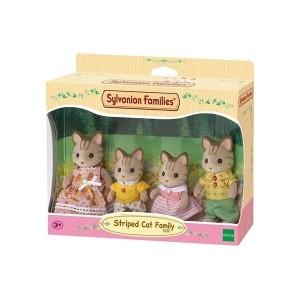 ست اسباب بازی Sylvanian مدل Family Striped Cat