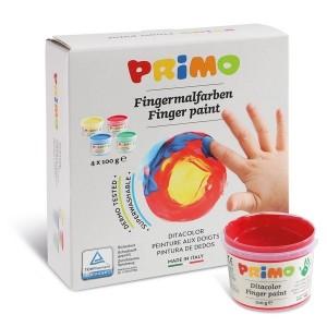 رنگ انگشتی 4 رنگ Primo مدل 100Gr