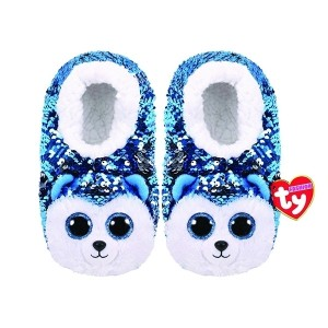 پاپوش Ty مدل Fashion Sequin Slipper Sock Asst Size M