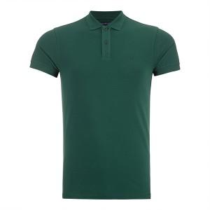 پولوشرت سبز تیره سیاوود سایز M مدل QS_2028900552122
