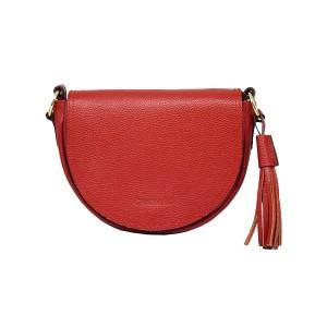 کیف رو دوشی زنانه چرم آرا مدل R0_D064-GHERMEZ-F