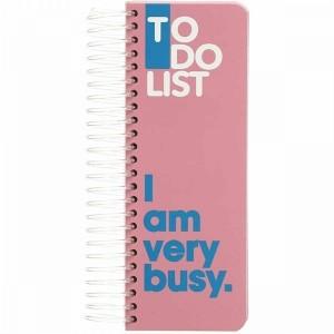دفتر Dotnote مدل To Do List - Pink