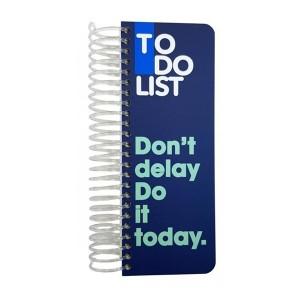 دفتر Dotnote مدل To Do List - Blue