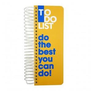 دفتر Dotnote مدل To Do List - Yellow