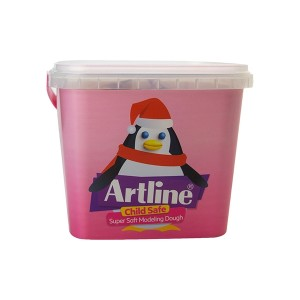 خمیر بازی 12 رنگ Artline مدل Penguin
