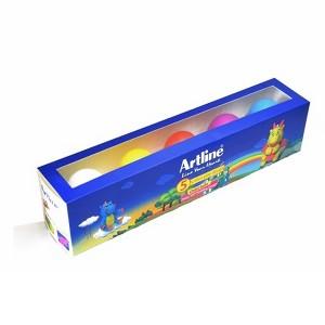 خمیر بازی 5 رنگ Artline مدل Egg