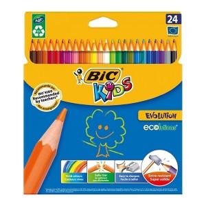 مداد رنگی Bic مدل Kids Evolution