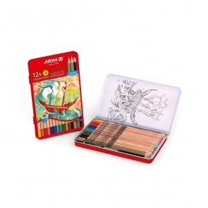مداد رنگی 3+12 رنگ آریا
