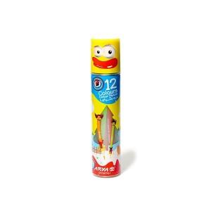مداد رنگی 12 رنگ آریا