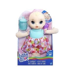عروسک Baby Alive مدل Lil' Slumbers Blonde Doll