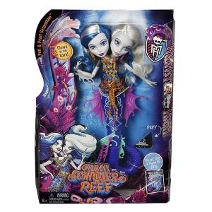 عروسک Monster High مدل Dsy Peri ve Pearl