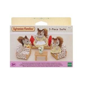 ست اسباب بازی Sylvanian مدل Set Of 3 Pieces Of Furniture