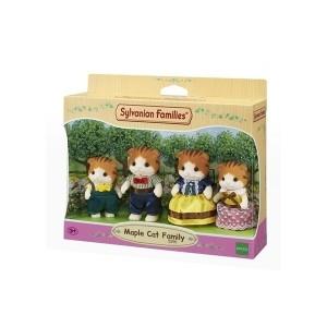 ست اسباب بازی Sylvanian مدل Maple Cat Family