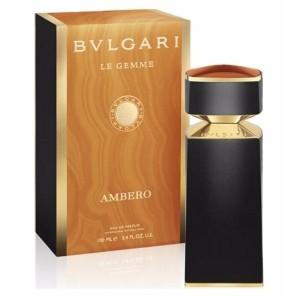 عطر ادوپرفیوم مردانه بولگاری مدل Le Gemme Ambero حجم 100 میلی لیتر