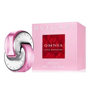 عطر ادوتویلت زنانه بولگاری مدل Omnia Pink Sapphire حجم 65 میلی لیتر
