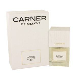 عطر ادو پرفیوم زنانه و مردانه کارنر بارسلونا مدل BESOS حجم 100 میلی لیتر