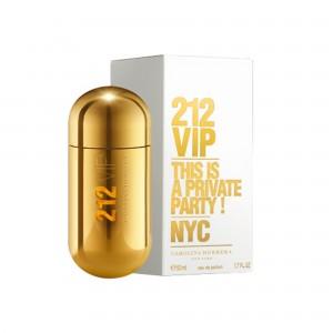 عطر ادوپرفیوم زنانه کارولینا هررا مدل 212 VIP حجم 50 میلی لیتر