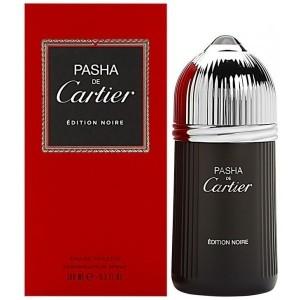 عطر ادوتویلت مردانه کارتیر مدل Pasha de Cartier Edition Noire حجم 100 میلی لیتر