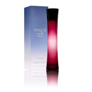 عطر ادوپرفیوم زنانه جورجیو آرمانی مدل Armani Code Satin حجم 75 میلی لیتر