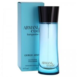 عطر ادوفرش زنانه جورجیو آرمانی مدل Armani Code Turquoise حجم 75 میلی لیتر