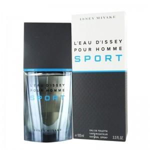 عطر ادوتویلت مردانه ایسی میاکه مدل L Eau D Issey Pour Homme Sport حجم 100 میلی لیتر
