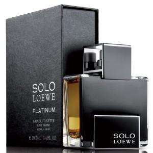 عطر ادوتویلت مردانه لووه مدل Solo Loewe Platinum حجم 100 میلی لیتر