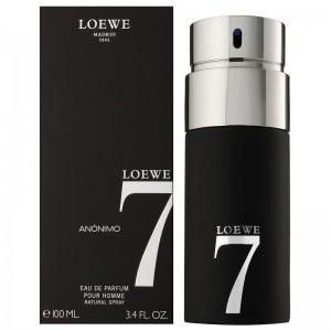عطر ادوپرفیوم مردانه لووه مدل Loewe 7 Anonimo حجم 100 میلی لیتر