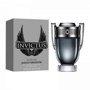عطر ادوتویلت مردانه پاکو رابان مدل Invictus Intense حجم 100 میلی لیتر