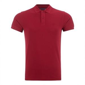 پولوشرت قرمز سیاوود سایز M مدل QS_2028900578122
