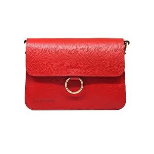 کیف رو دوشی زنانه چرم آرا مدل R0_D054-GHERMEZ-F