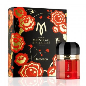 عطر ادوپرفیوم زنانه و مردانه رامون مونگال مدل Flamenco حجم 100 میلی لیتر