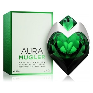 عطر ادوپرفیوم زنانه تیری موگلر مدل Aura Mugler حجم 90 میلی لیتر