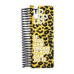 دفتر Dotnote مدل To Do List-Leopard