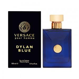 عطر ادوتویلت مردانه ورساچه مدل Pour Homme Dylan Blue حجم 100 میلی لیتر