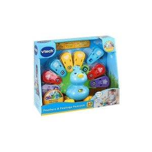 اسباب بازی Vtech مدل Baby Feathers & Feelings Peacock