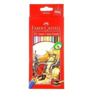 مداد رنگی Faber Castell مدل Classic جعبه فلزی