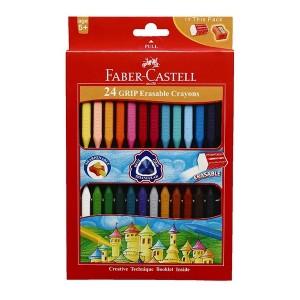 مداد شمعی Faber Castell مدل Assorted جعبه مقوایی