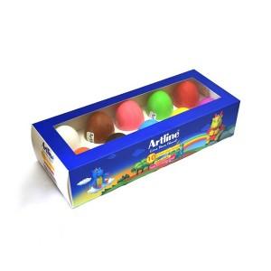 خمیر بازی 10 رنگ Artline مدل Egg