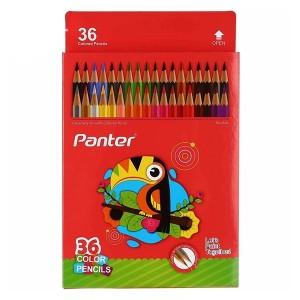 مداد رنگی 36 رنگ Panter مدل Hexagonal