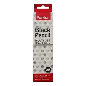 مداد سیاه Panter مدل Hexa