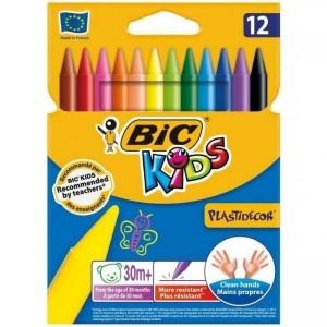 مداد شمعی Bic مدل Plastidecor
