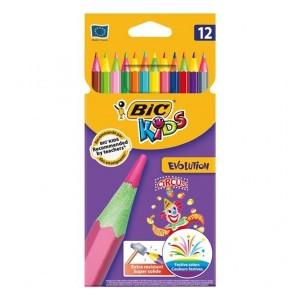 مداد رنگی Bic مدل Kids Evolution Circus